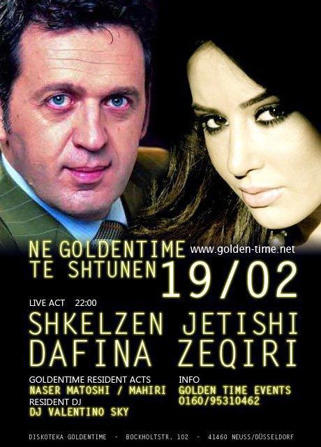Dafina Zeqiri & Shkelzen Jetishi - Xeni - Koncert ne GoldenTime