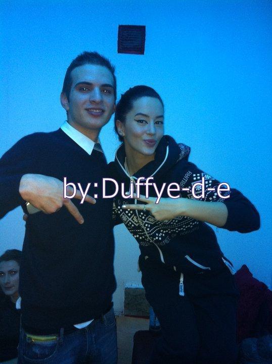 Dafina Zeqiri me fans