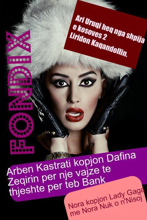 Arben Kastrati kopjon Dafina Zeqirin per nje vajze te thjeshte per Teb Bank