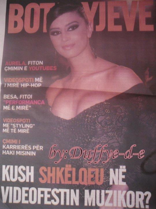 Dafina Zeqiri - Ballina e revistes Bota e Yjeve