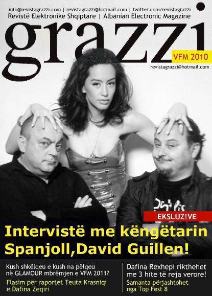 Dafina Zeqiri - Revista Grazzi