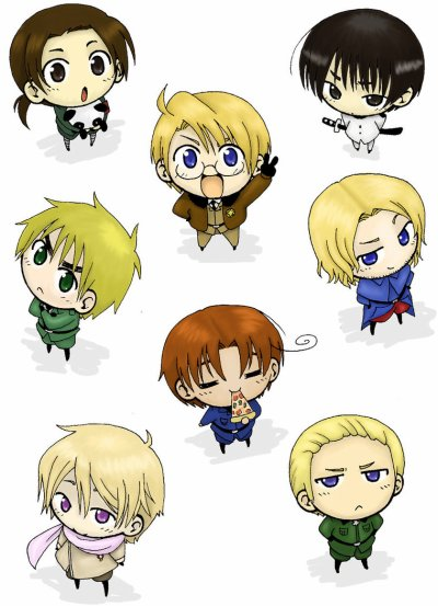 Axis Powers Hetalia / World Series Hetalia