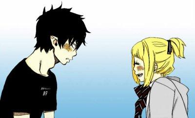 Shiemi & Rin <3