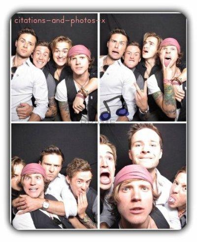 Seul un groupe me met le sourire meme dans les + graves moments... McFly <3