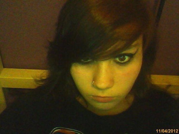 My neew hair color ...