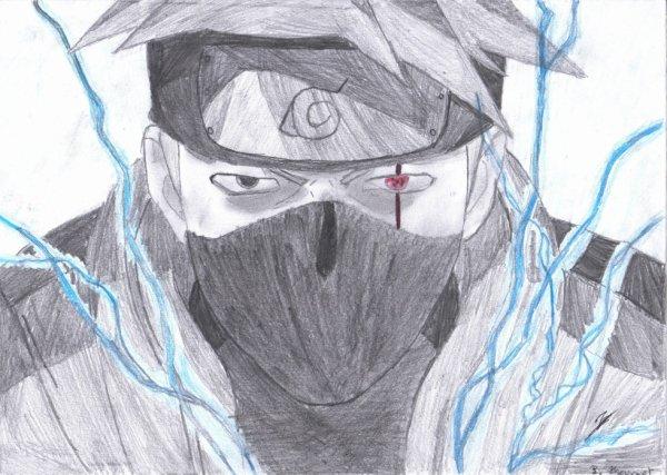 Kakashi Hatake Naruto Lui Gi Le Dessin Une Passion
