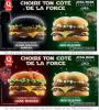 Quick lance une gamme de burgers Star Wars