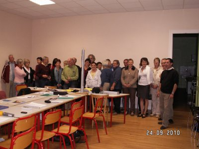 La Fédération se réunit à Pommier de Beaurepaire(38)