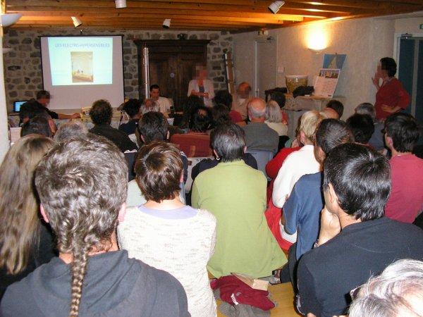 Les réunions-débat animées par notre Fédération à Tournon sur Rhône et Pailharès (07)