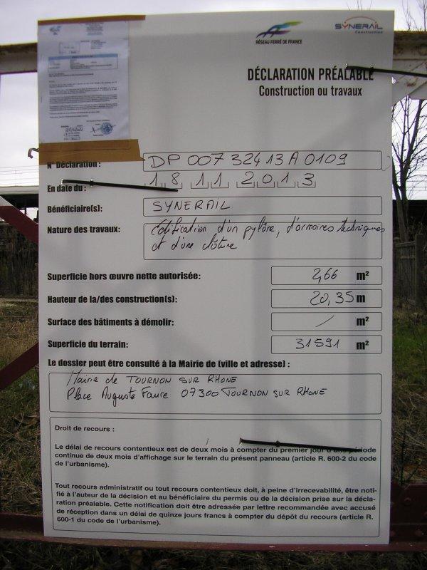 A TOURNON SUR RHONE (07) LES OPERATEURS NE PERDENT PAS DE TEMPS !!!