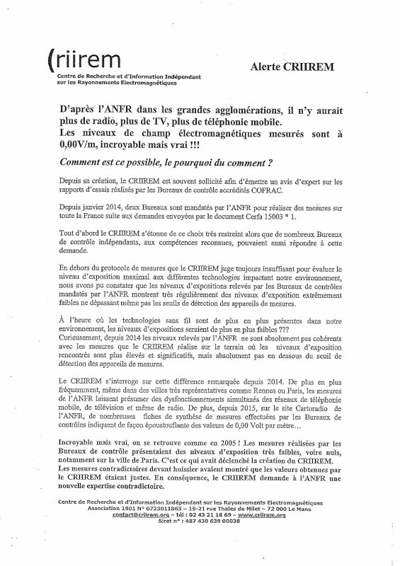 """Bravo Edwige pour le collectif """"stop antenne cachin"""" de Fontaine (38)!!!"""