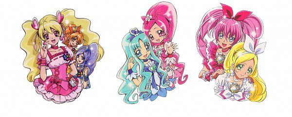 Fresh , Heartcatch , Suite Pretty Cure