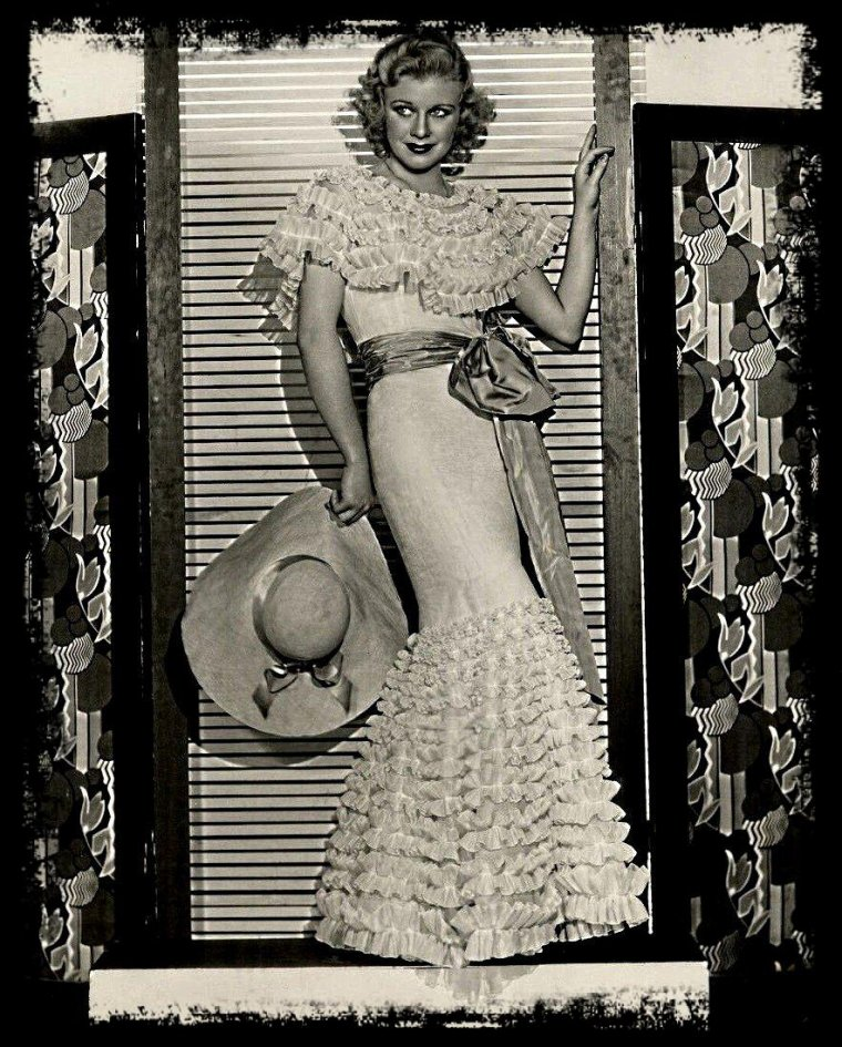 Ginger ROGERS (taille 1 m 64)