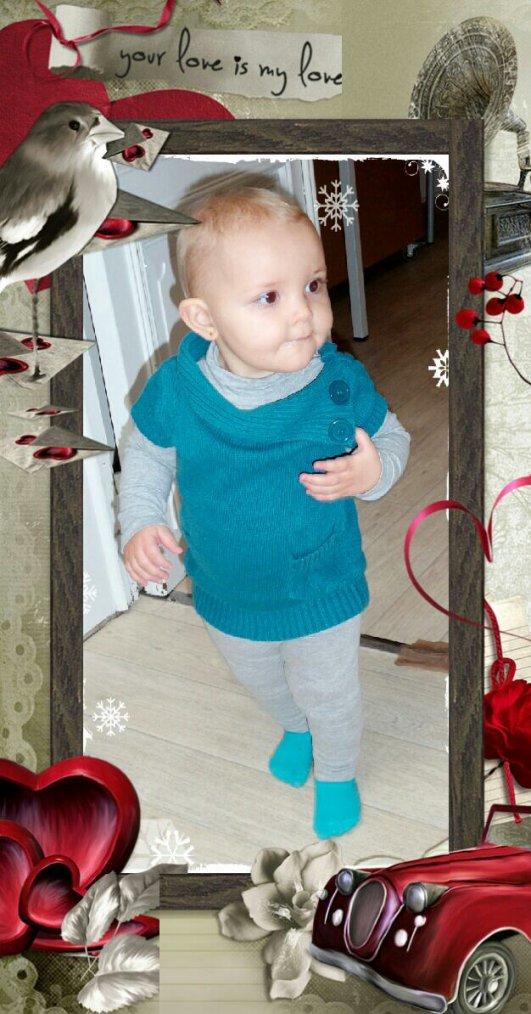 Cassidy 16 mois ♥♥♥