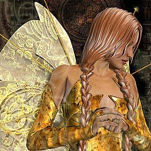 Une fée est un être imaginaire,