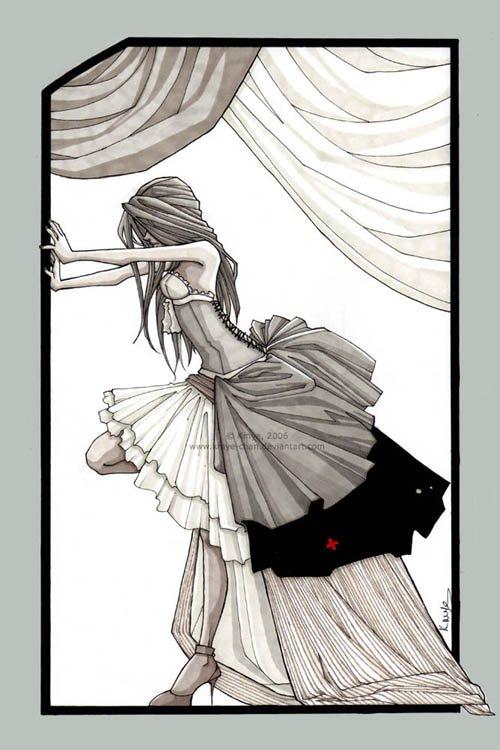 La Danseuse De Cabaret.