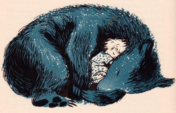 L'Ours Et L'Enfant Recherchée.