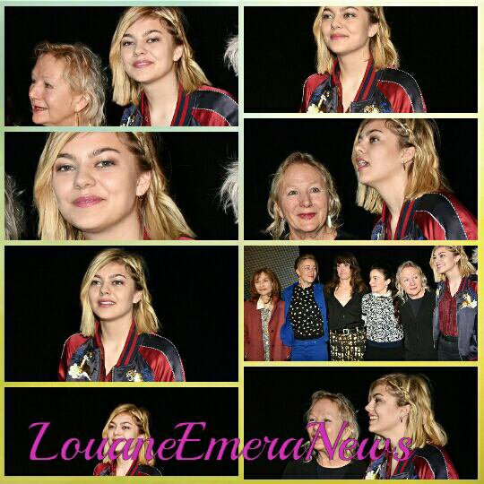 Paris Fashion Week Womenswear Fall/Winter 2016/2017 /   Louane en concert à Dijon,Metz,Strabourg