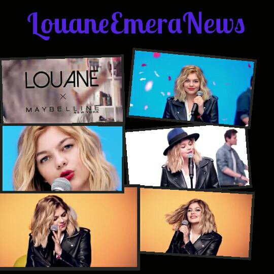 """LOUANE x MAYBELLINE : clip COLORSHOW"" +Making Of"