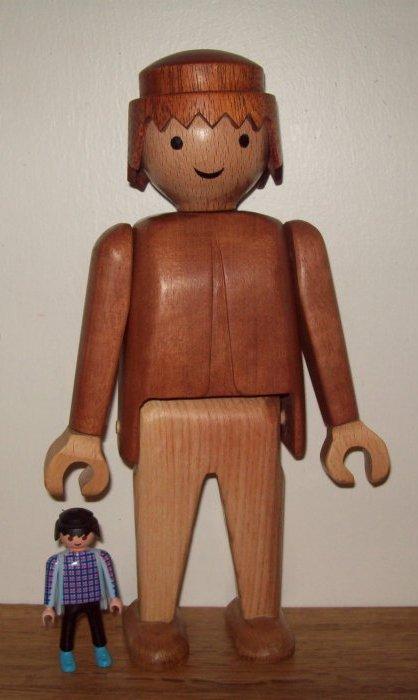 playmobil en bois