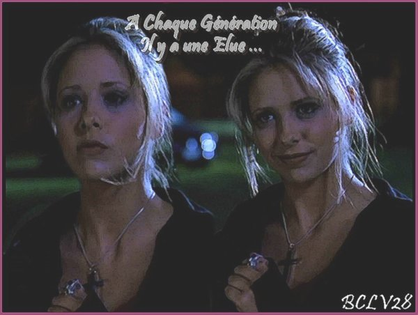 Buffy Anne Summers, The Slayer. ♥