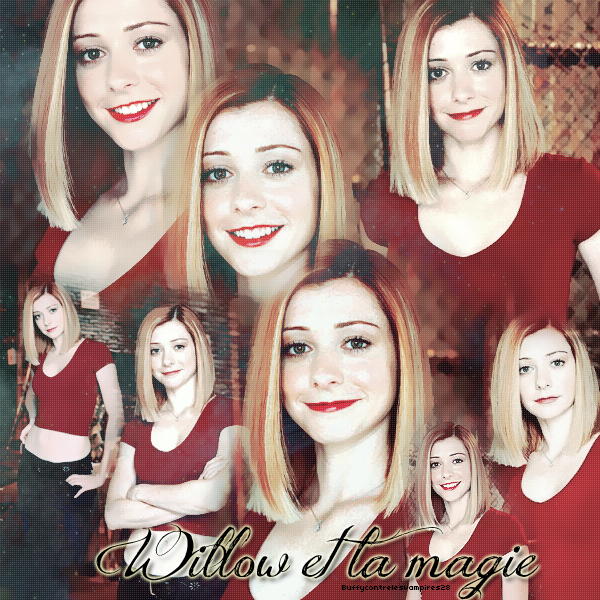 Willow Rosenberg, the Witch. ♥