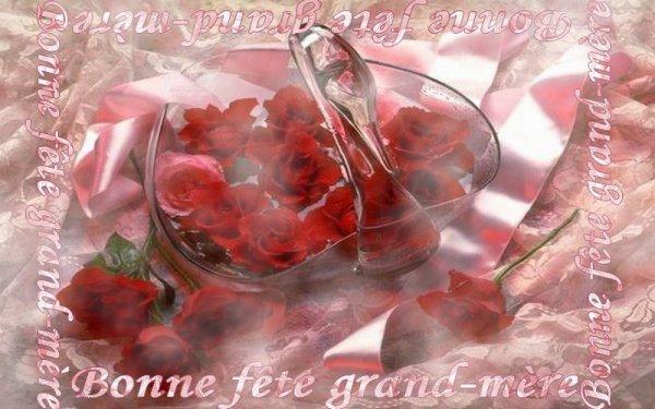 Bonne fête à toutes les grands mères !!!!