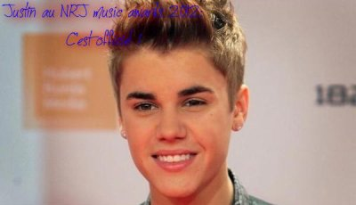 Justin au NRJ MA 2012 : Preuves