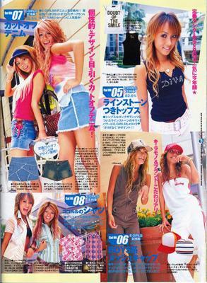 Le style Gyaru