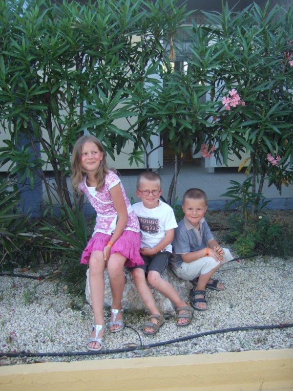 mes trois amours maélie, alan et jordan