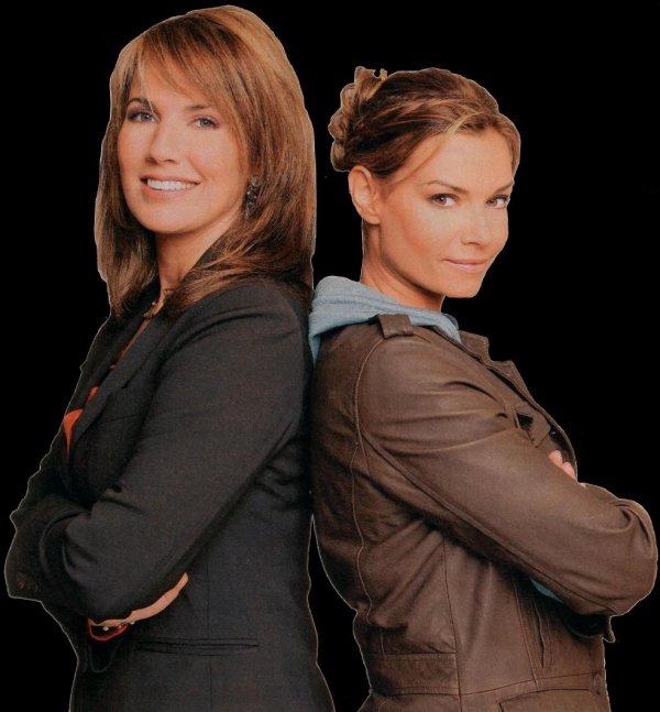 """La série """"Femmes de loi"""" révèlent Ingrid Chauvin au public..."""