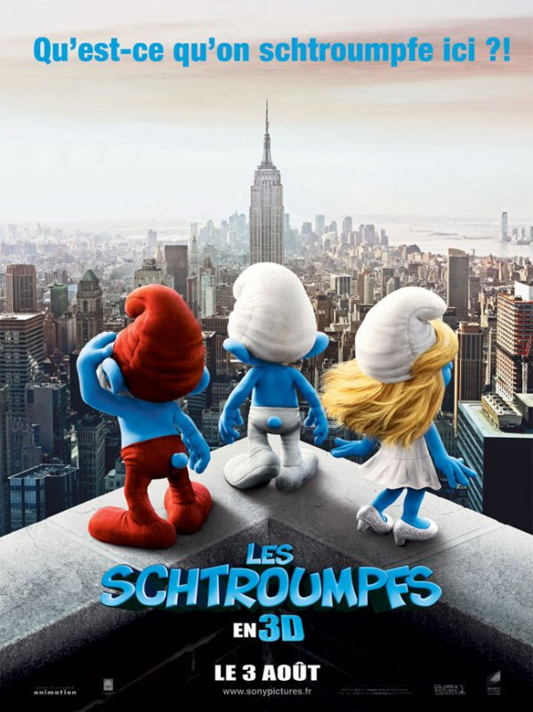Les Schtroumpfs(le film)