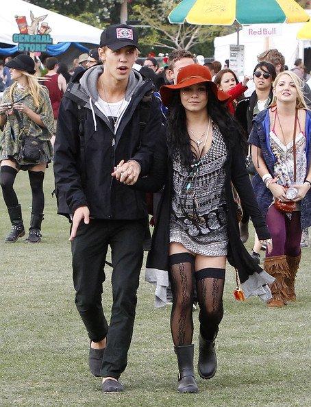 Look de Vanessa hudgens au festival Coachella