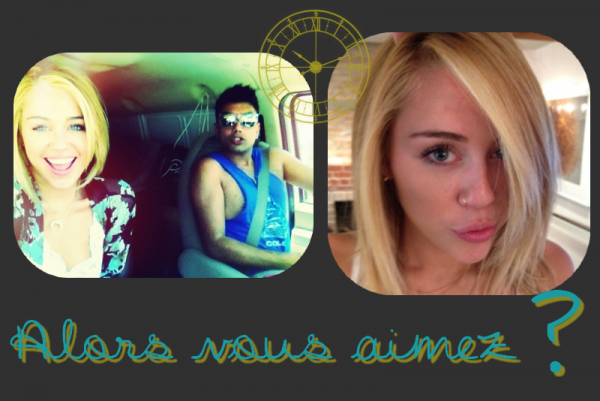 Miley a posté des photos personnelles