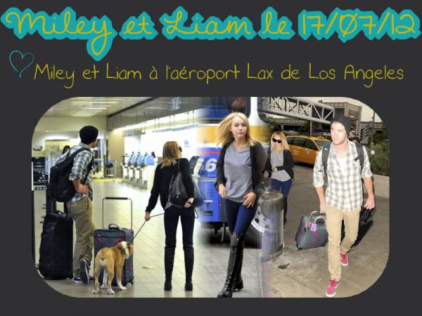 Miley et Liam ♥