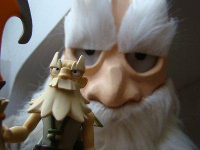 Ruel et sa figurine