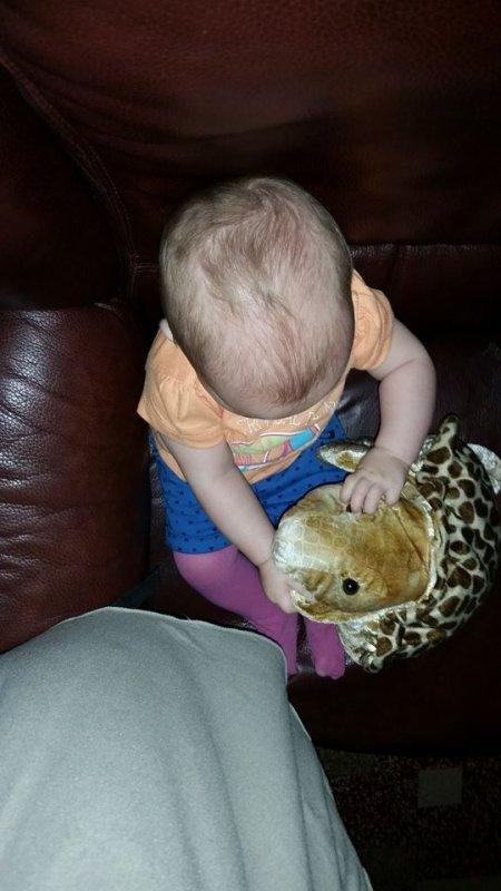 ma fille 6 mois et demi