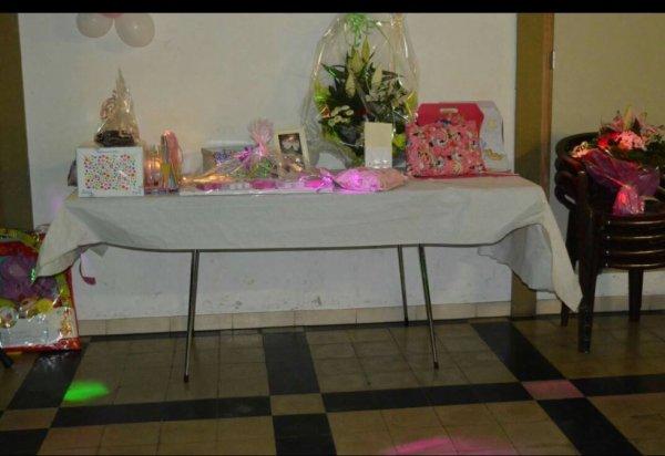 la tables de cadeaux;)