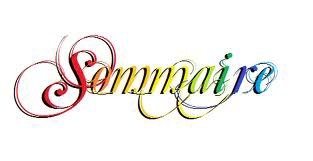 Sommaire♥♡