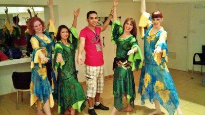 Me & the swidish Dancers :D