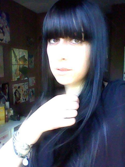 teinture noire !