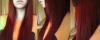 J'ai les cheveux rouge!