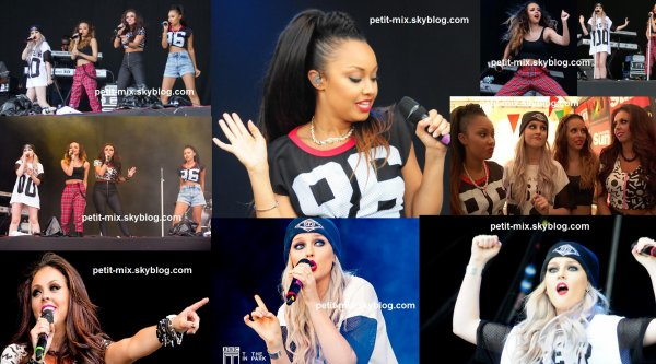 little mix pour l'évenement T In The Park   + photo non classer!