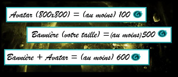 Graphisme (Avatar, Bannière ...)