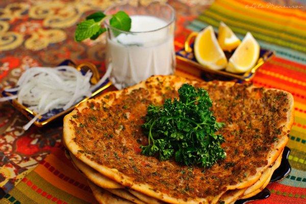 LAHMACUN (pizza turque)