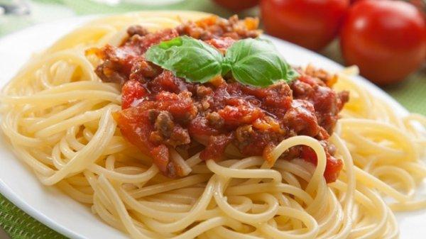 Spagettis bolognaise a l'italienne!