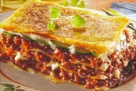 Lasagnes a la bolognaise!