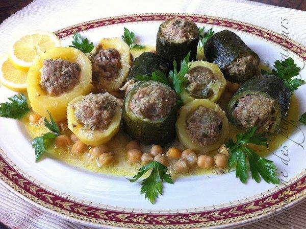 Légumes farcis en sauce, Dolma à l'Algéroise