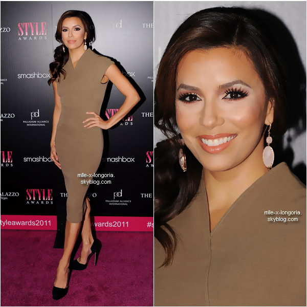 Eva Longoria au 2011 Hollywood Style Awards, à Hollywood, le 13 Novembre.