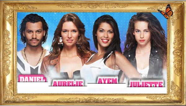Quatres candidats révélés par TF1.FR !